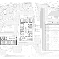 First floor plan of Pazdigrad Primary School by x3m