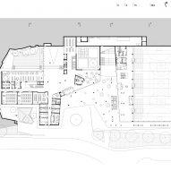 Ground floor plan of Pazdigrad Primary School by x3m