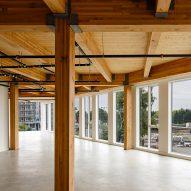 Portland Flatiron Building by Works Progress Architecture