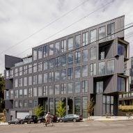 Works Progress Architecture creates triangular Portland Flatiron building for unusual site