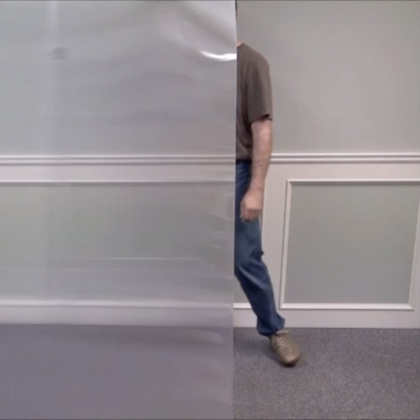 "Hyperstealth Biotechnology's ""invisibility cloak"" can conceal people and buildings"