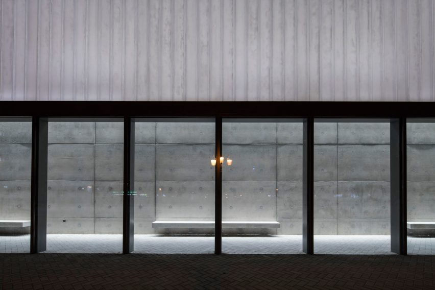Rain Room by SpaceContinuum Design Studio and Shape Architects in Sharjah, UAE