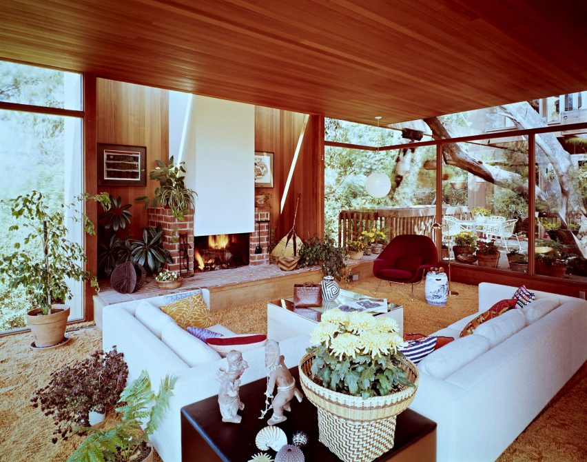 Gertler House, which was completed in Santa Monica in 1970, are among the architect's later projects