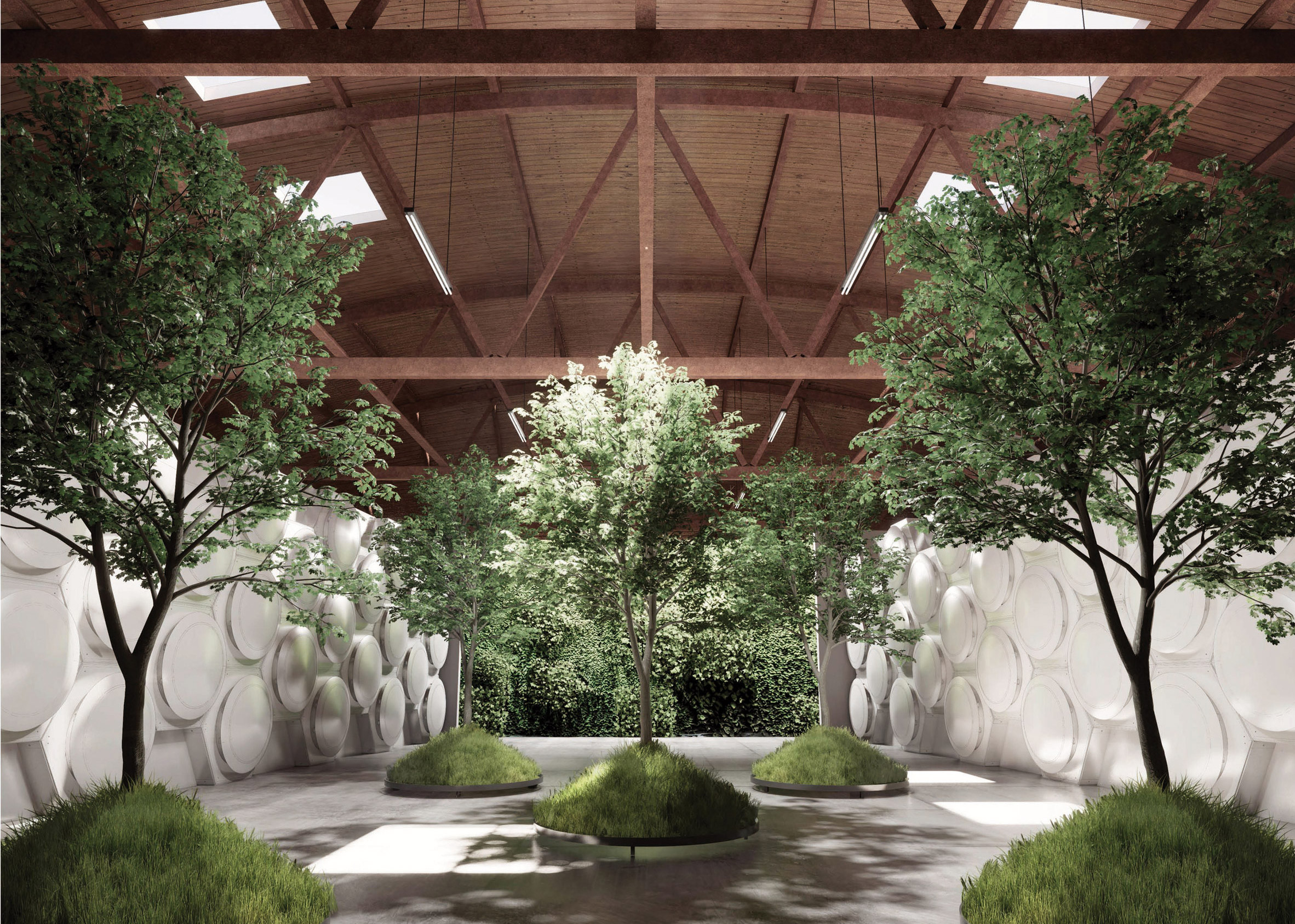 Olson Kundig unveils Recompose facility for composting human bodies