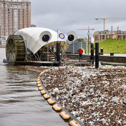 River plastic pollution solutions