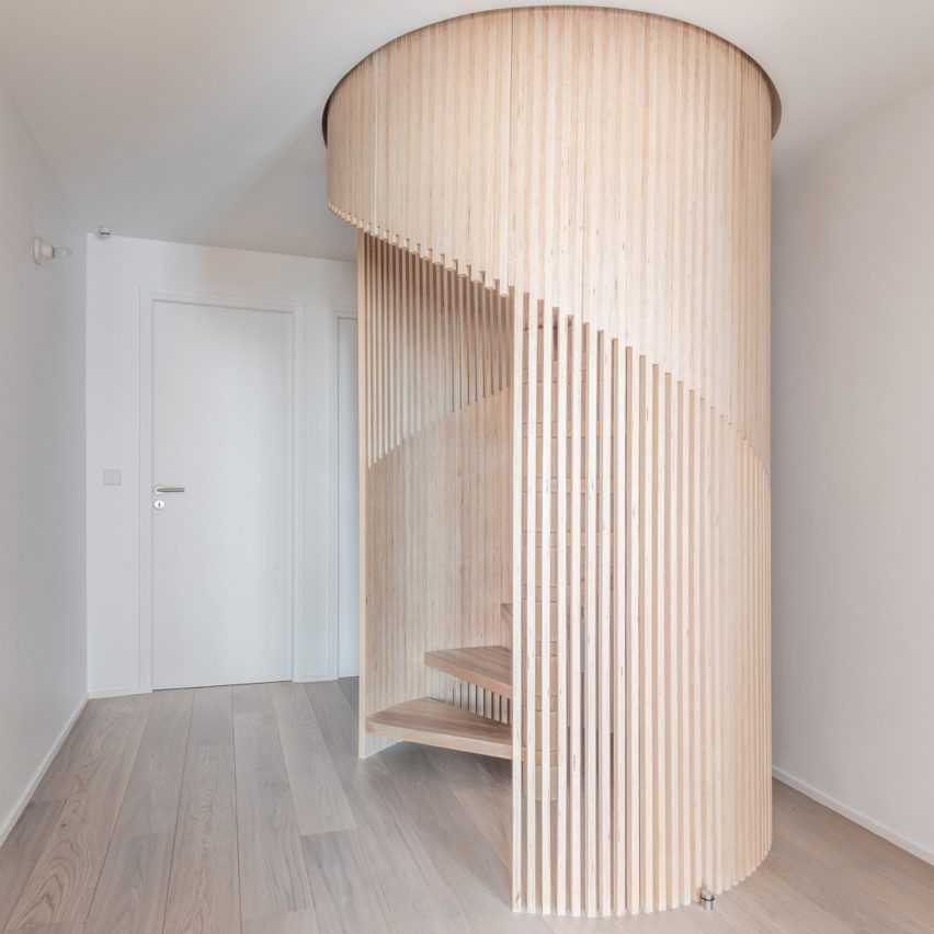 Dezeen's top 10 staircases of 2019: Sacha, France, by SABO Project