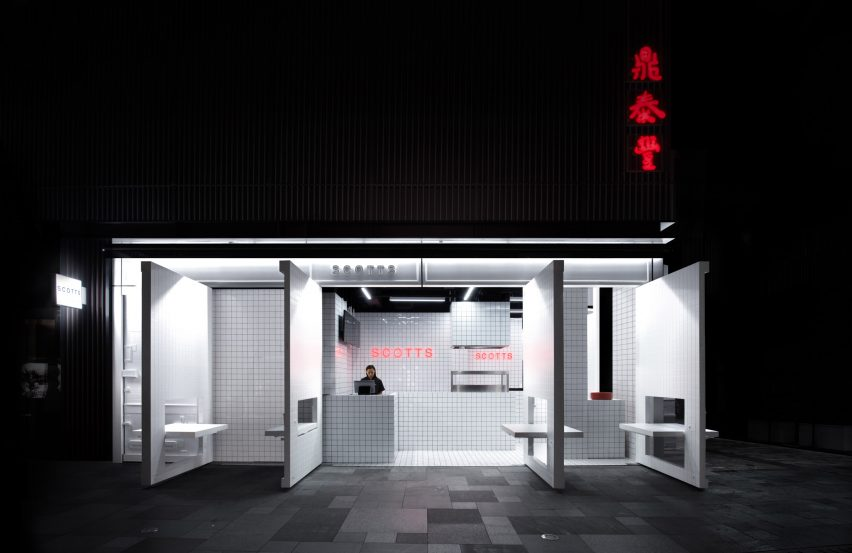 Scott's fish and chip shop, Chengdu, designed by Unknown Works