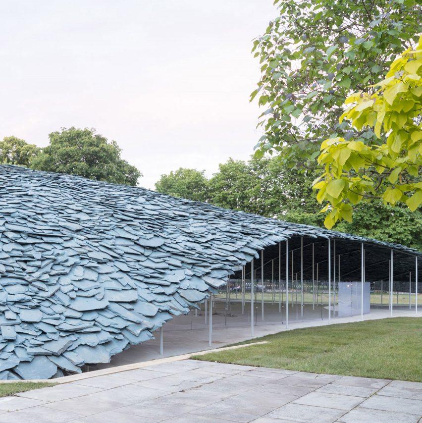 Serpentine Pavilion, UK, byJunya Ishigami