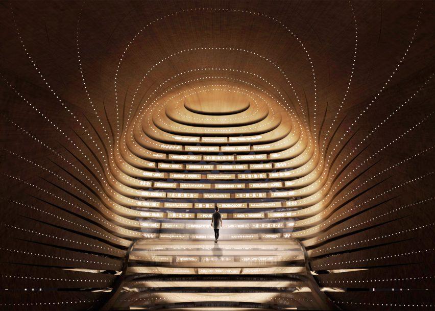 Poem Pavilion, UAE, Es Devlin
