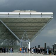 "Stansted Airport ""challenged all the rules of terminal design"""