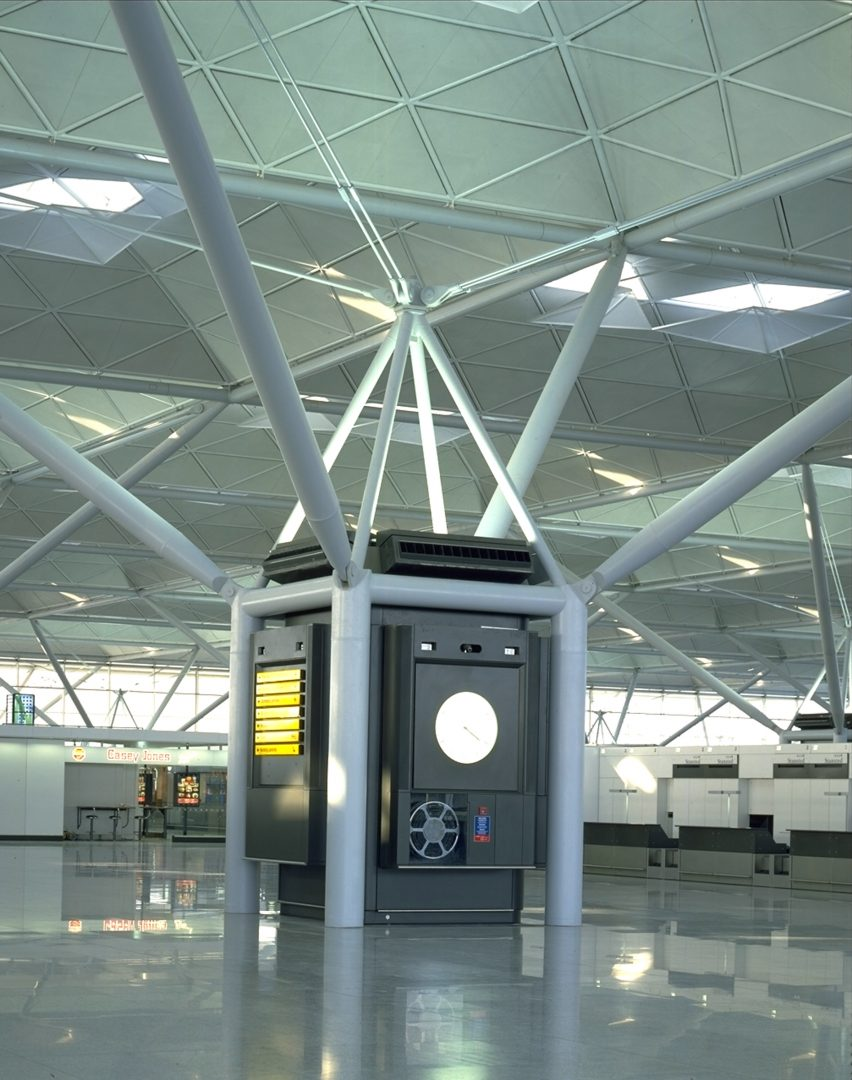 Stansted Airport by Foster + Partners
