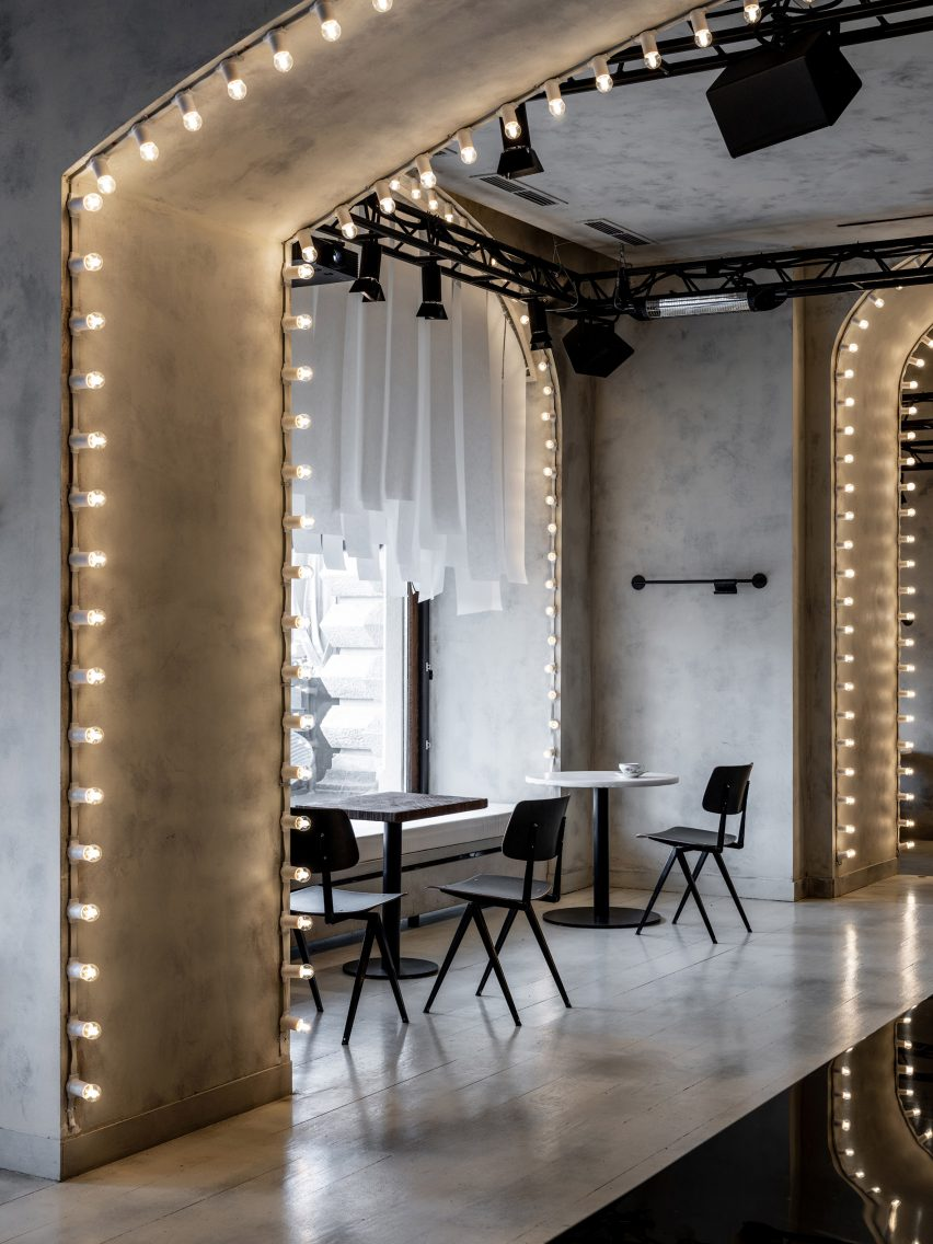 Sundukovy Sisters use reflective surfaces to illuminate Moscow bar