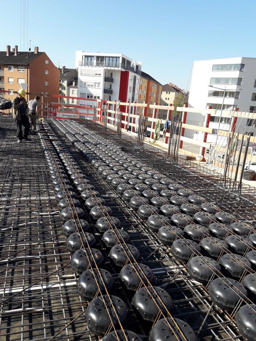Cobiax: Lighter concrete slabs