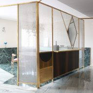Teorema Milanese apartment, designed by Marcante Testa