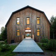 La Firme turns abandoned shed into Quebec home The Barn