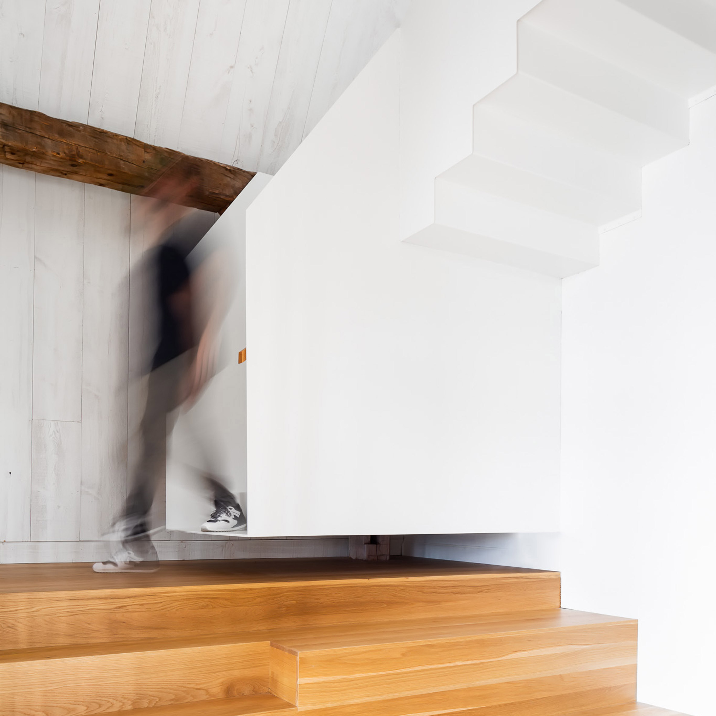Dezeen's top 10 staircases of 2019: The Barn, Canada, by La Firme