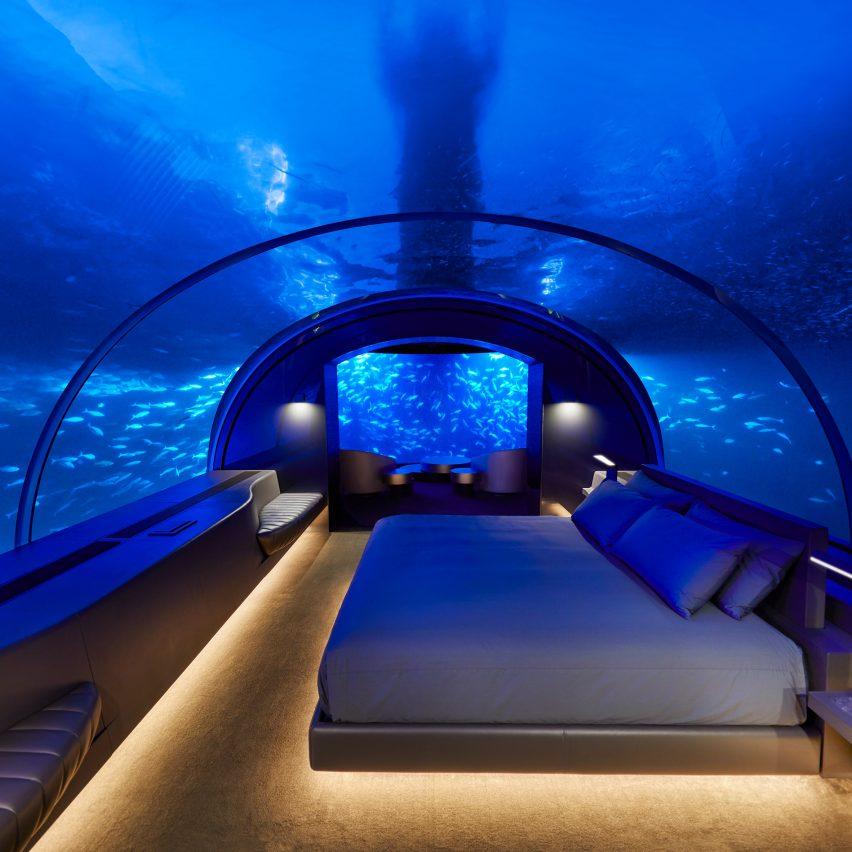 The Muraka underwater residence