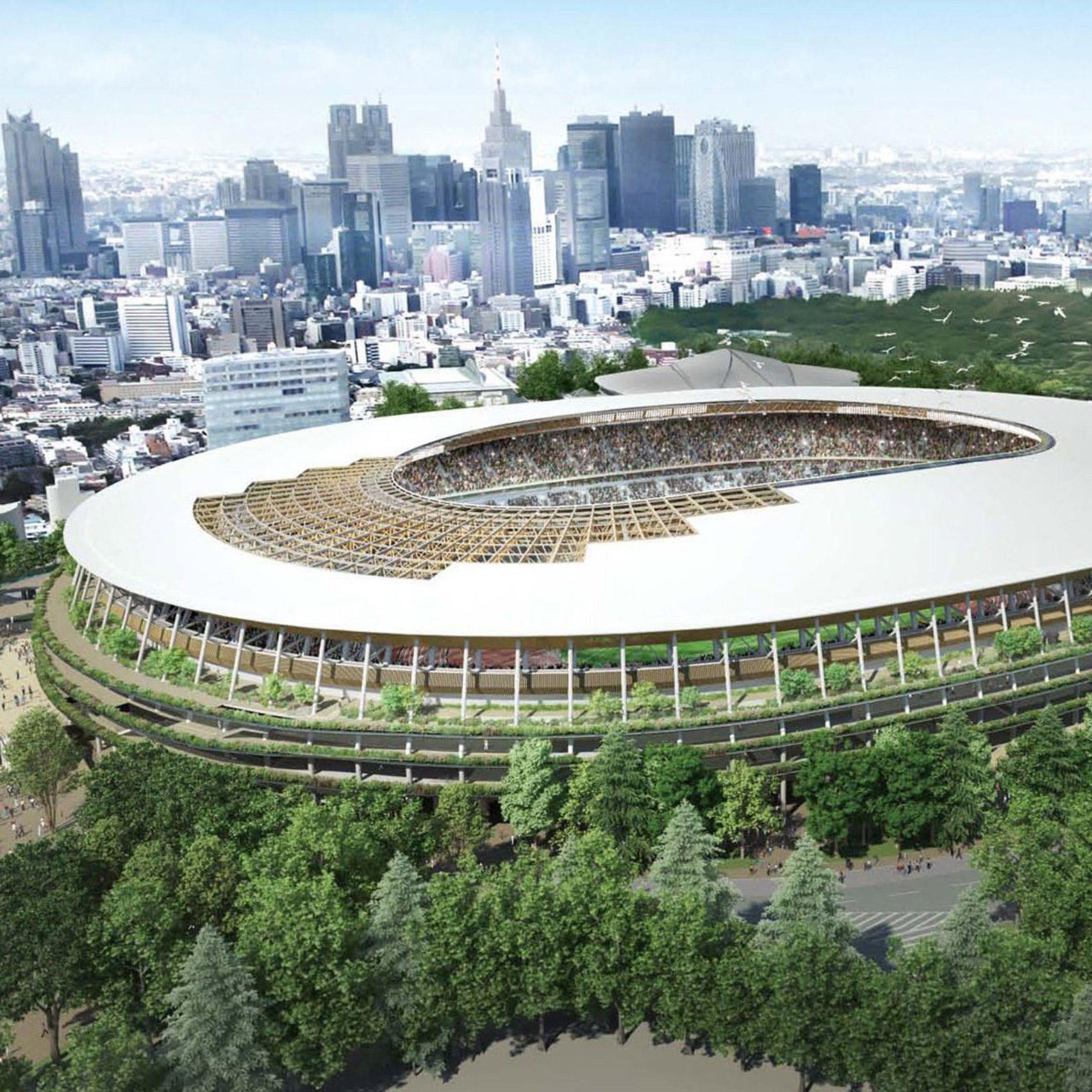12 new buildings to look forward to in 2020: Japan Tokyo 2020 stadium
