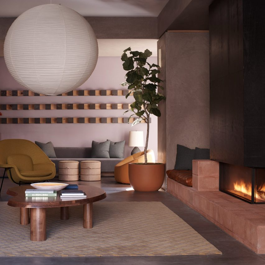Dezeen's top 10 cosiest interiors of 2019