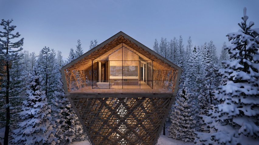 Tree Suites by Peter Pichler Architecture