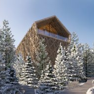 Peter Pichler reveals visuals of luxury wooden Tree Suites in Austria