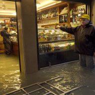 Homo Urbanus by Bêka & Lemoine shows flooded shops in Venice