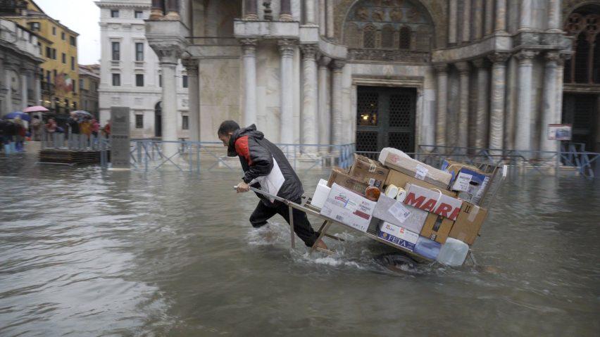 Bêka & Lemoine's latest film shows Venice's worst flood in half a century