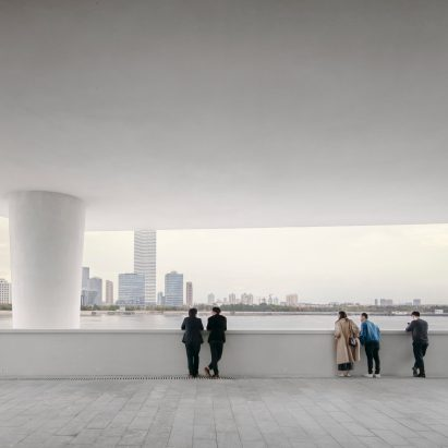 West Bund Museum by David Chipperfield Architects in Shanghai, China