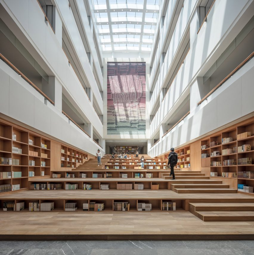 Yan'an University campus building by Architectural Design and Research Institute of Tsinghua University, China