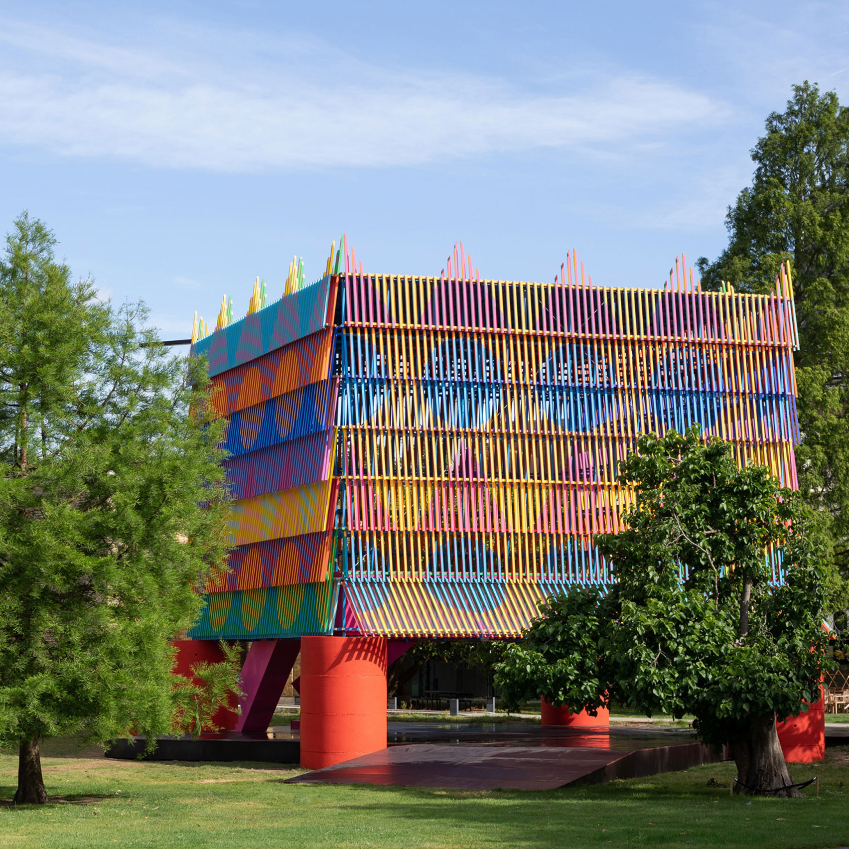 The Colour Palace, UK, by Yinka Ilori and Pricegore