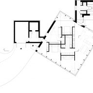 Floor plan of 3 Three Square House by Studio Puisto