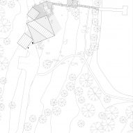 Site plan of 3 Three Square House by Studio Puisto