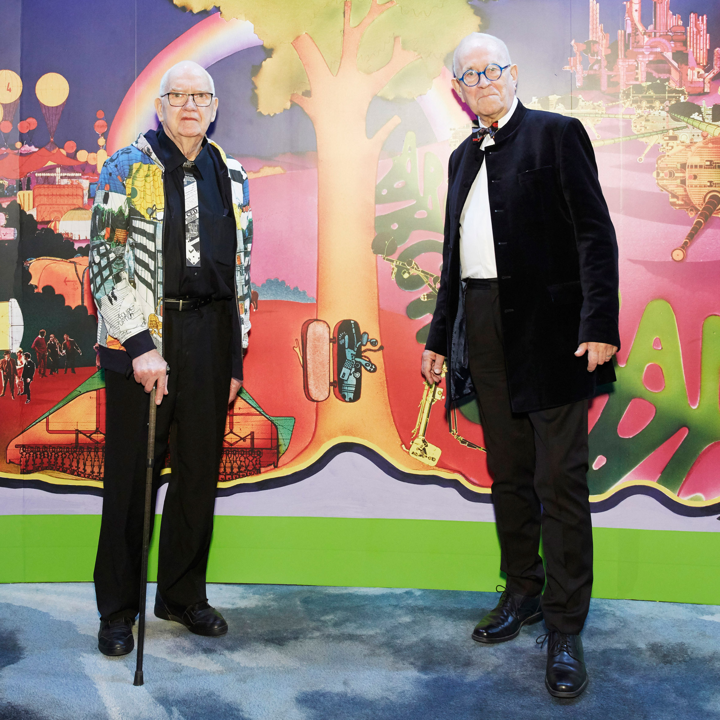 Dennis Crompton and Peter Cook of Archigram