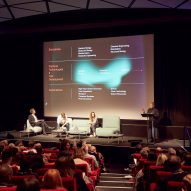 Watch the video of the discussion about post-plastic materials at Dezeen Day