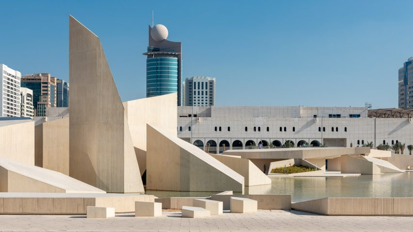 Al Musallah prayer hall by CEBRA