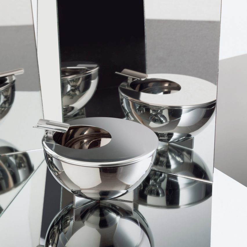 10 Bauhaus gifts: Marianna Brandt ashtray by Alessi