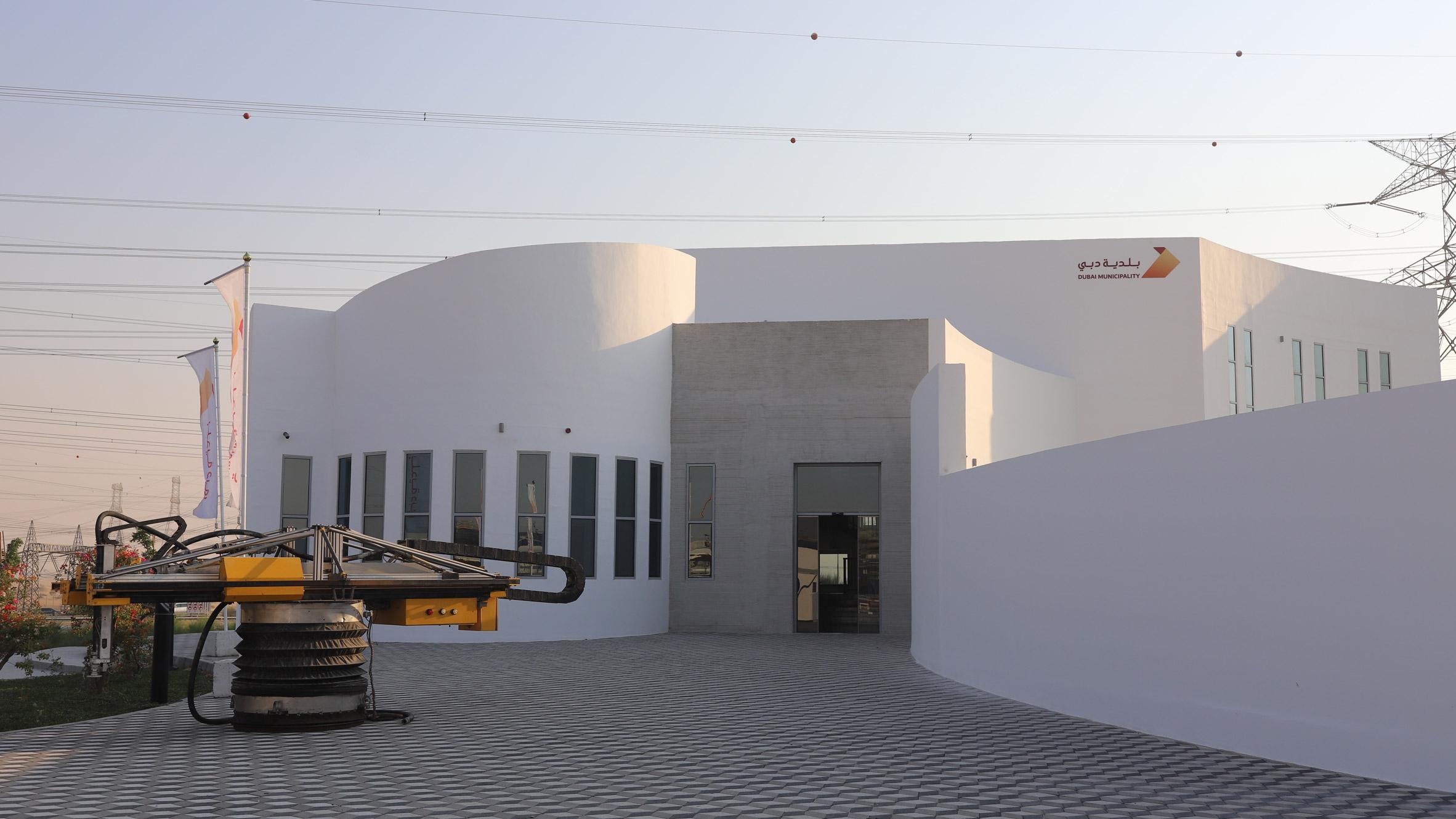 3д принтер дом дубай мечеть эмираты