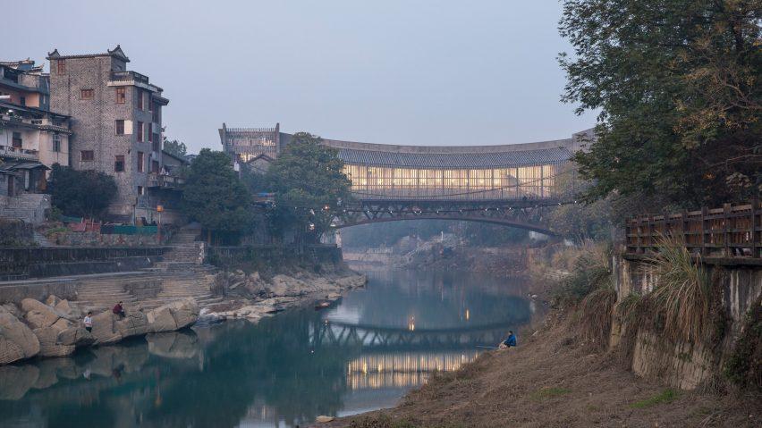 Jishou Art Museum, Jishou, by Atelier FCJZ