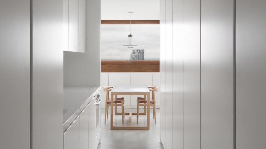 Barbican Apartment by John Pawson