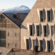 ALL designs faceted facade to create a play of light across Bodø City Hall