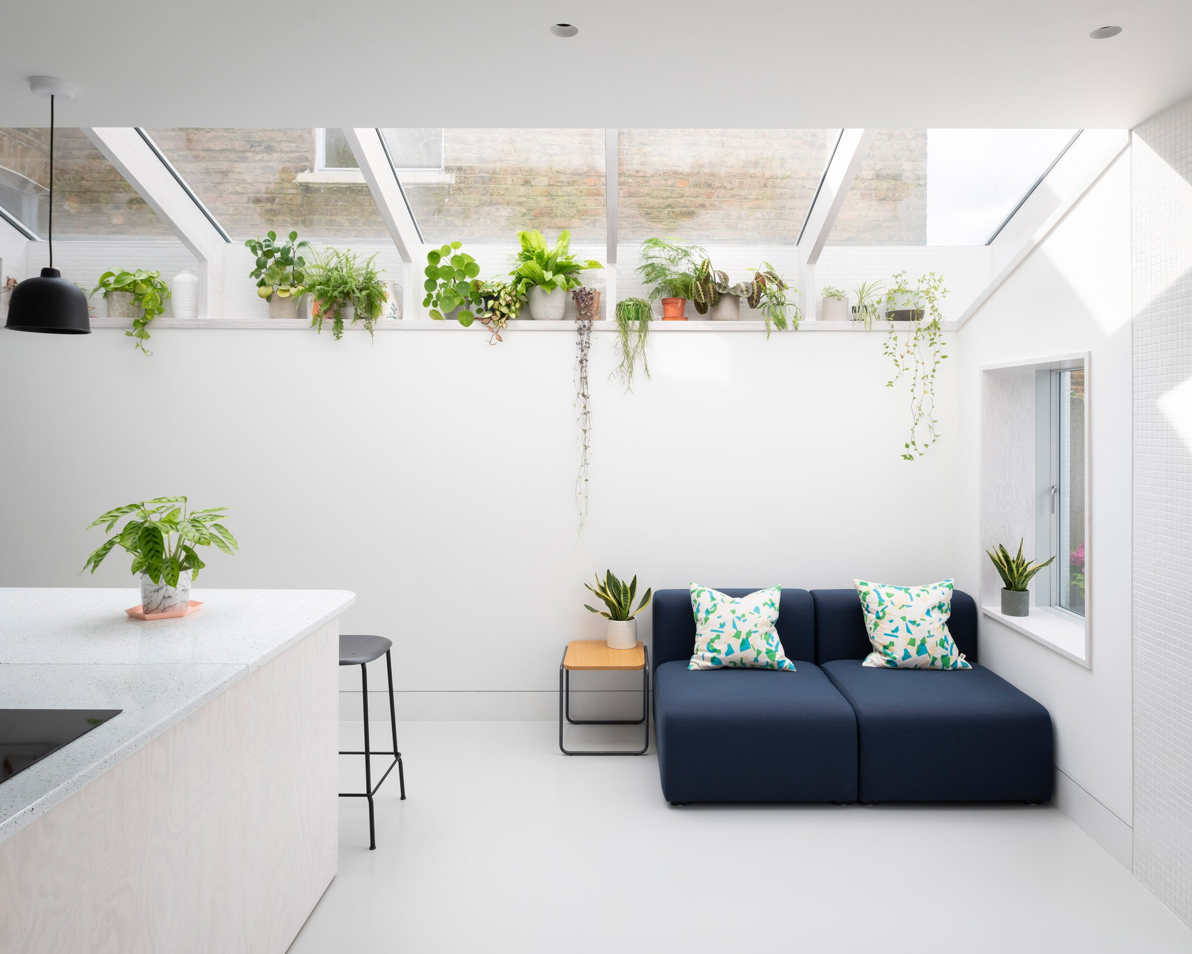 A Brockley Side London house extension and renovation by CAN
