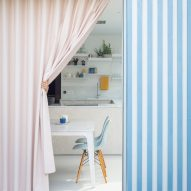 CAN adds blue and white striped extension to London house