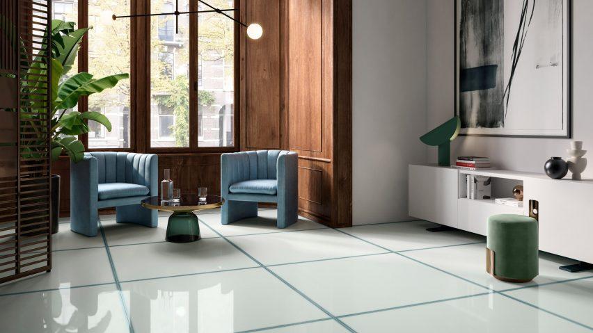 Ceramiche Refin launches Vetri collection of glass-effect tiles
