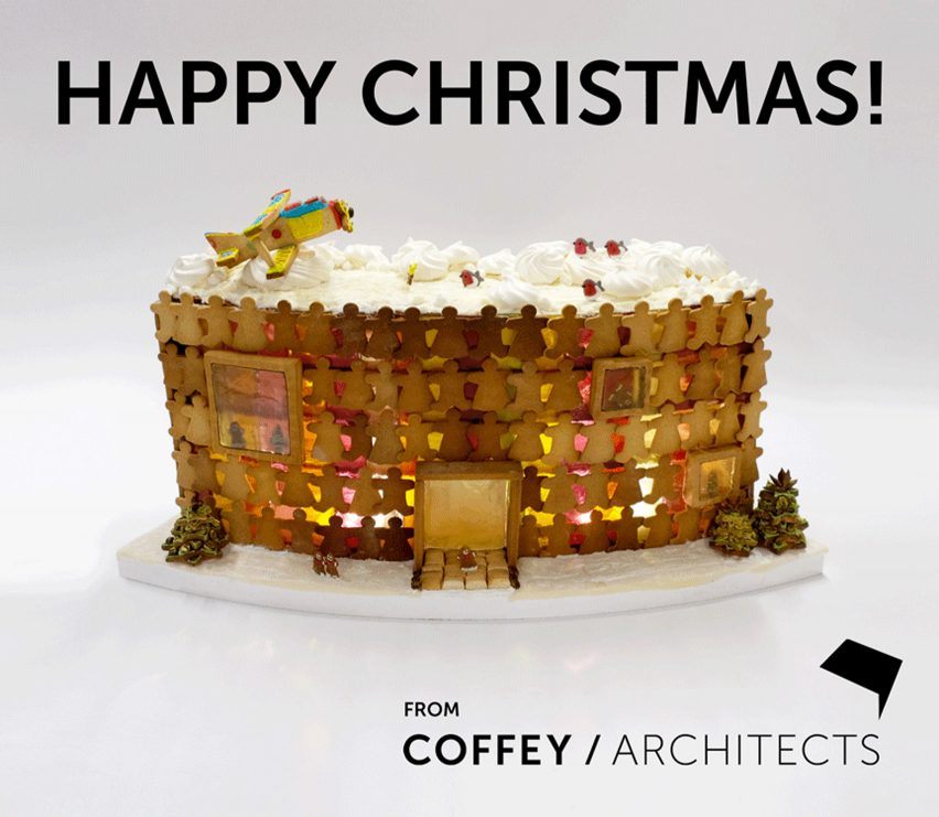 Christmas cards by architects and designers for 2019