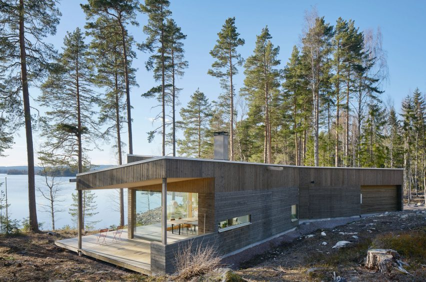 Dalarna House by Dive Architects