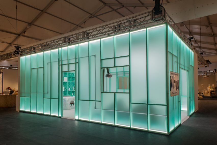 Daniel Arsham and Friedman Benda at Design Miami