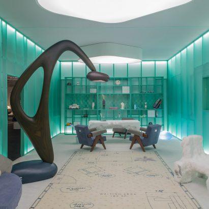 Daniel Arsham and Friedman Benda at Design Miami