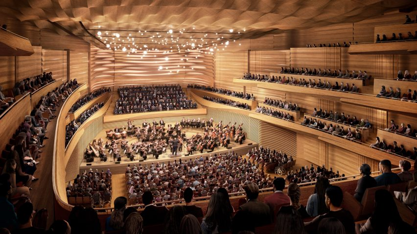 David Geffen Hall by Diamond Schmitt Architects and Tod WIlliams Billie Tsien Architects
