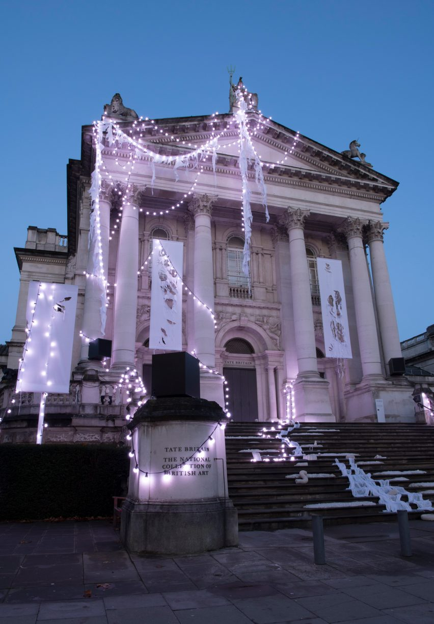 The Depth of Darkness, the Return of the Light by Anne Hardy at Tate Britain