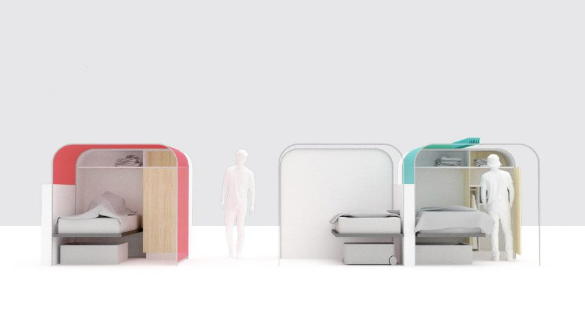 Perkins and Will designs Dome sleeping unit for LA homeless shelters